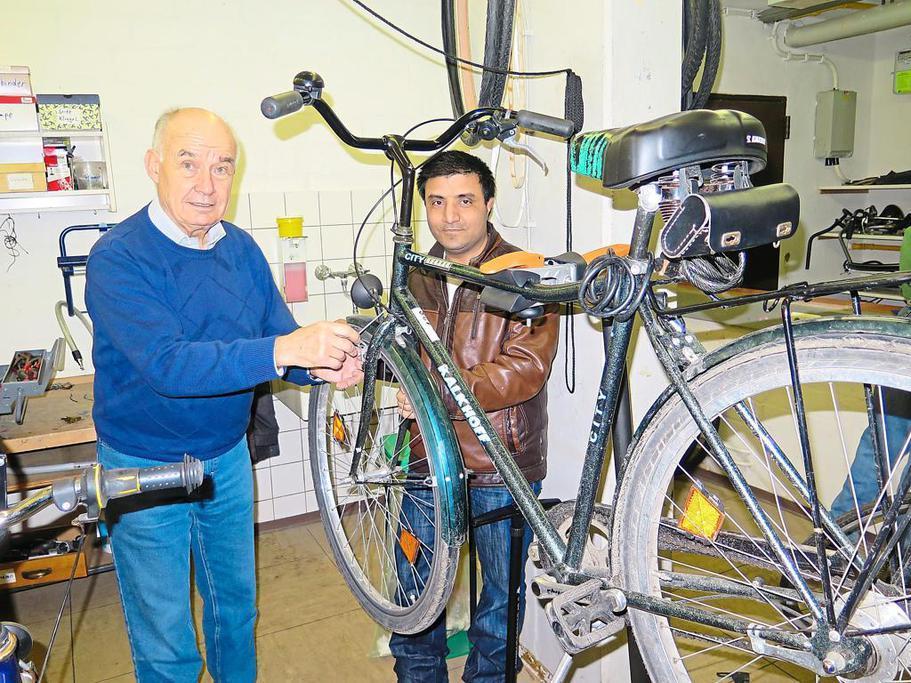 Fahrradwerkstatt von Zib – Integration auf zwei Rädern