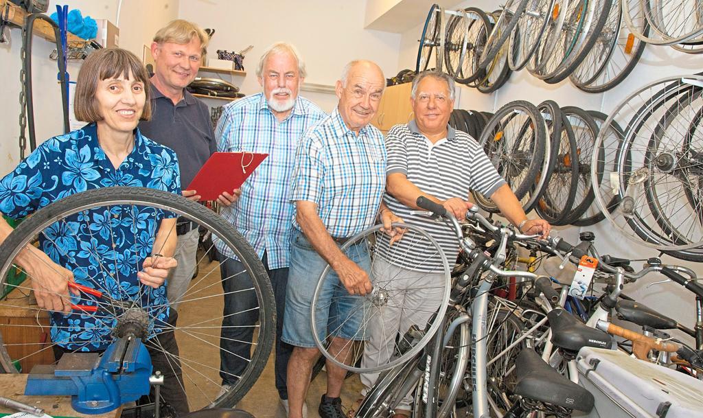 """Fahrradwerkstatt des Vereins """"Zib"""" Telgte – Wunsch ist ein größerer Raum"""